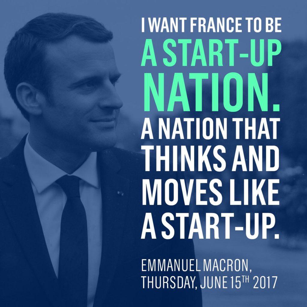 Le progrès emmanuel Macron