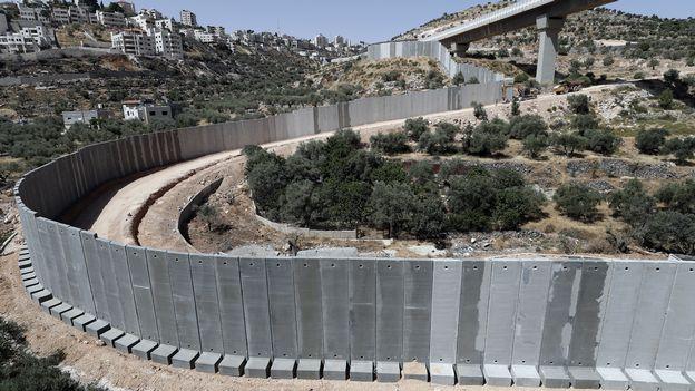 Frontières Israël