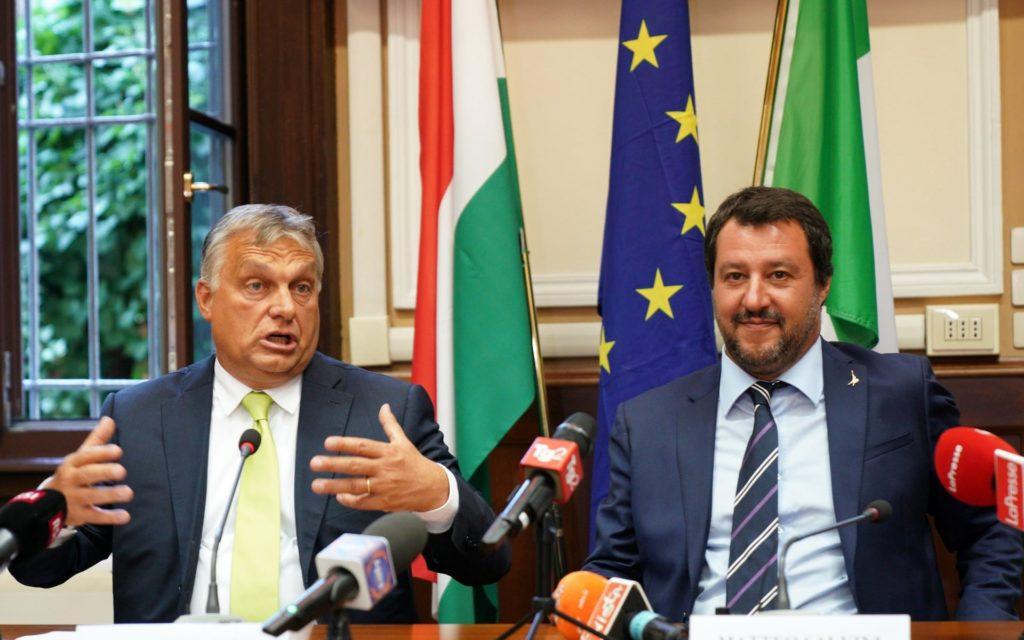 Viktor Orban & Matteo Salvini new silk road