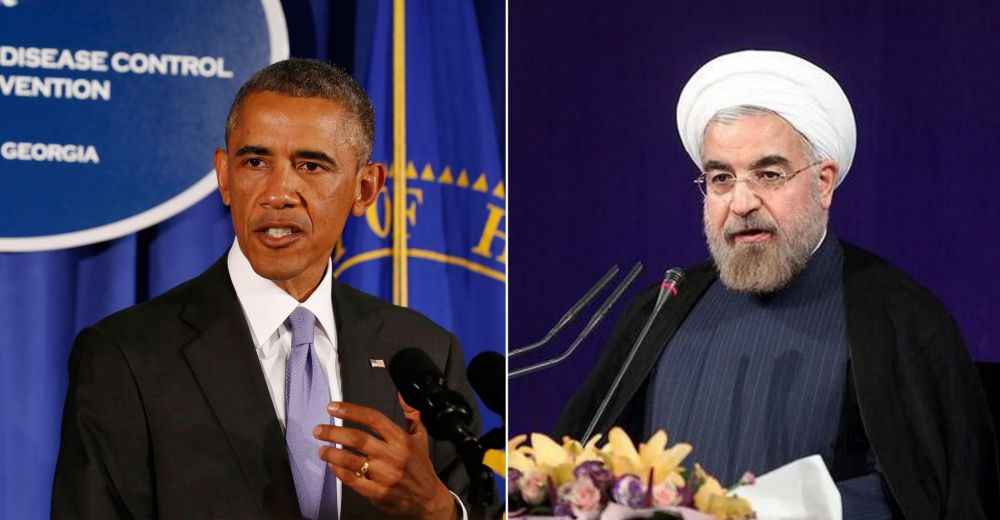 Etats-Unis Obama Rohani