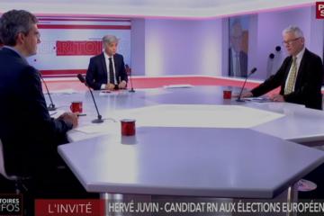 Public Sénat Hervé Juvin