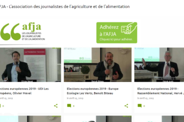 Intervention à 'association des journalistes de l'agriculture et de l'alimentation