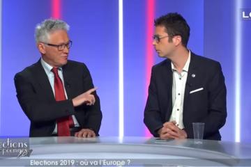 Soirée électorale Hervé Juvin