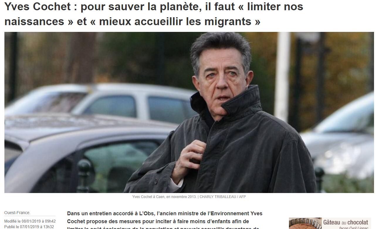 L'idéologie écologique d'Yves Cochet