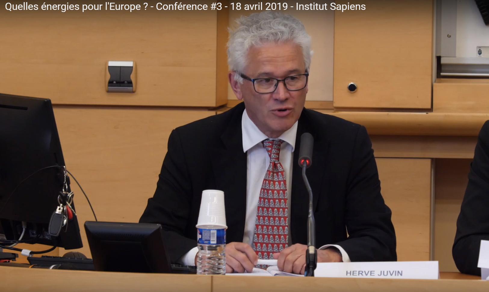 Energie en Europe pour Hervé Juvin