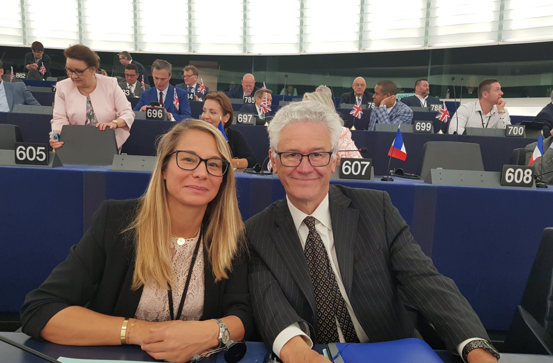 Hervé Juvin au Parlement européen