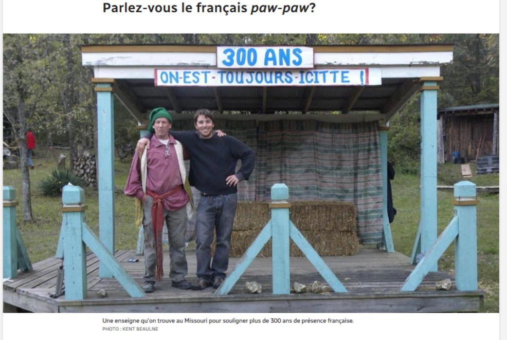 Paw paw french une langue minoritaire