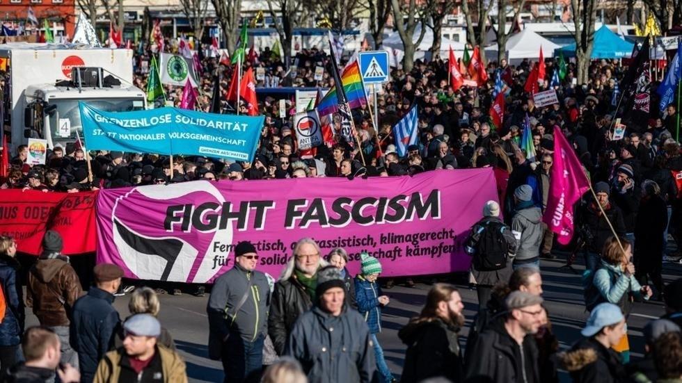 Allemagne manifestation contre l'AFD