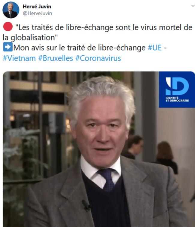 Hervé Juvin libre-échange allemagne