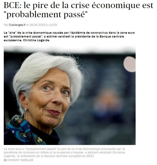 Crédit BCE