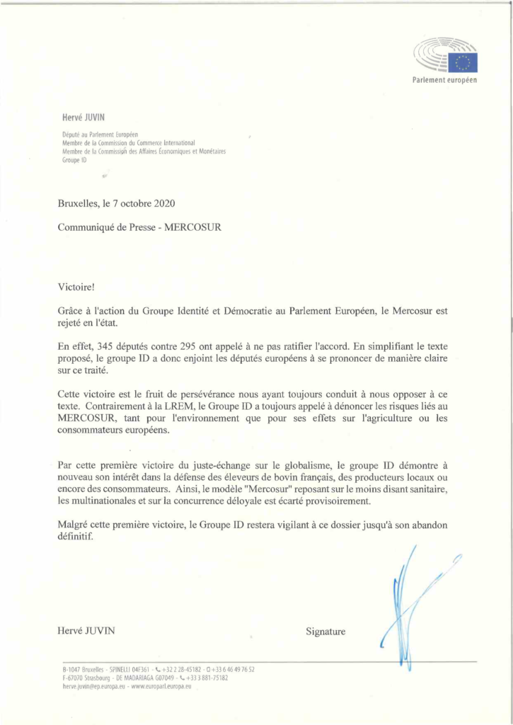 mercosur victoire groupe id